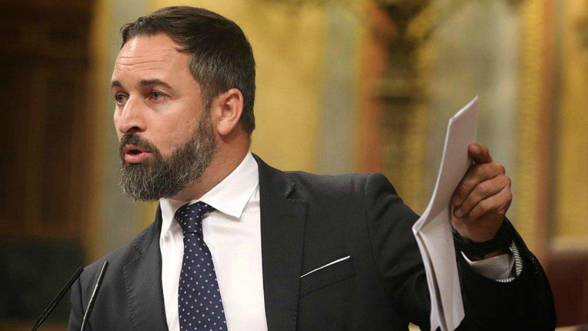 Santiago Abascal, el único líder que ha pedido un límite exento del IRPF