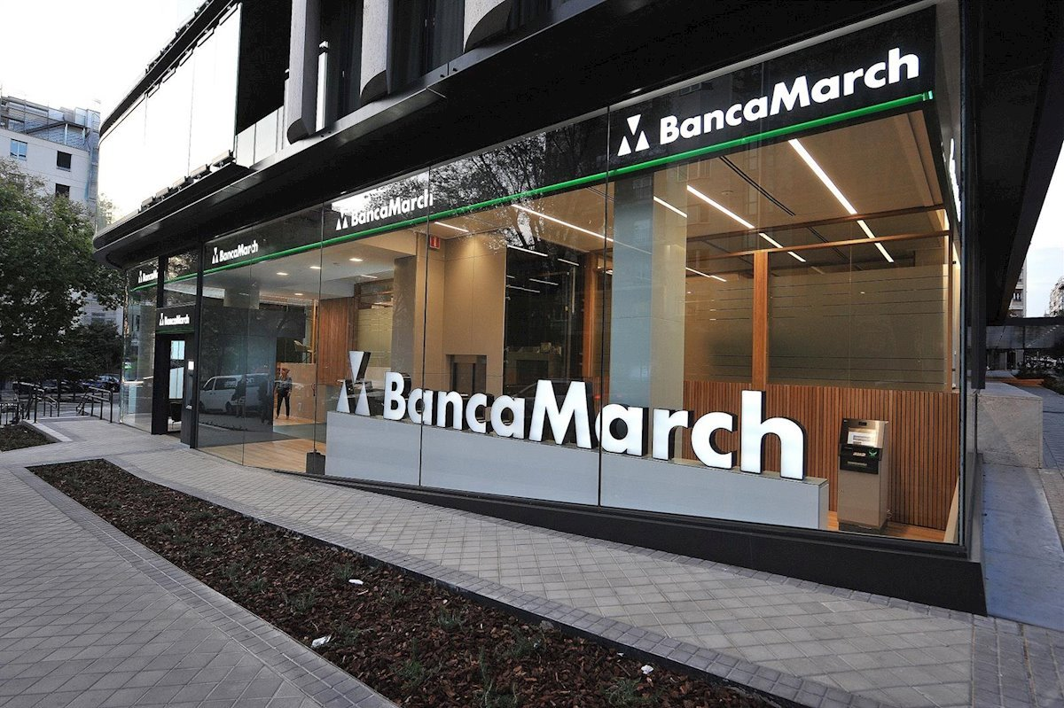 Oficina de Banca March en Madrid