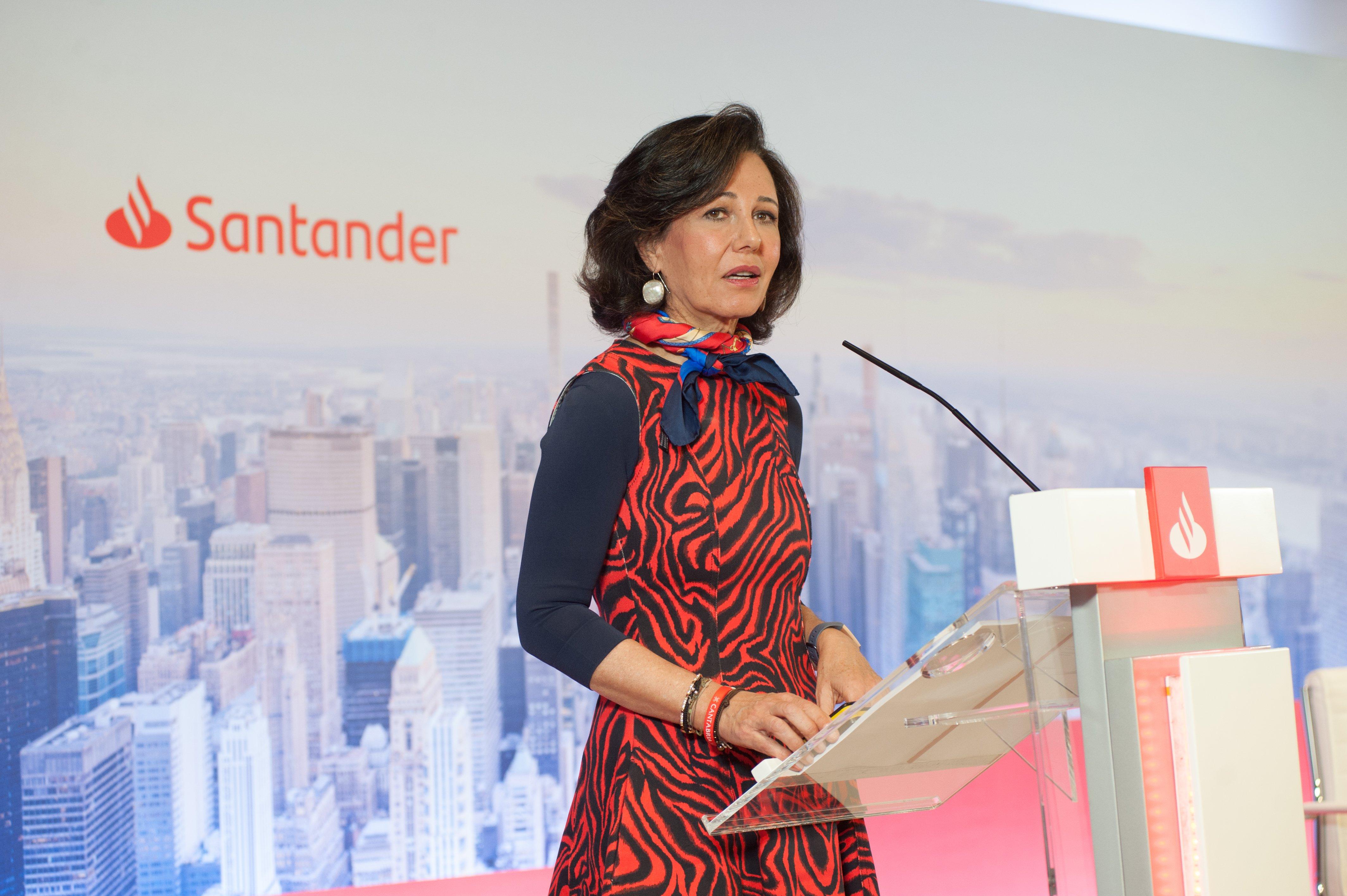 Ana Botín, presidenta del Santander y cada vez más feminista