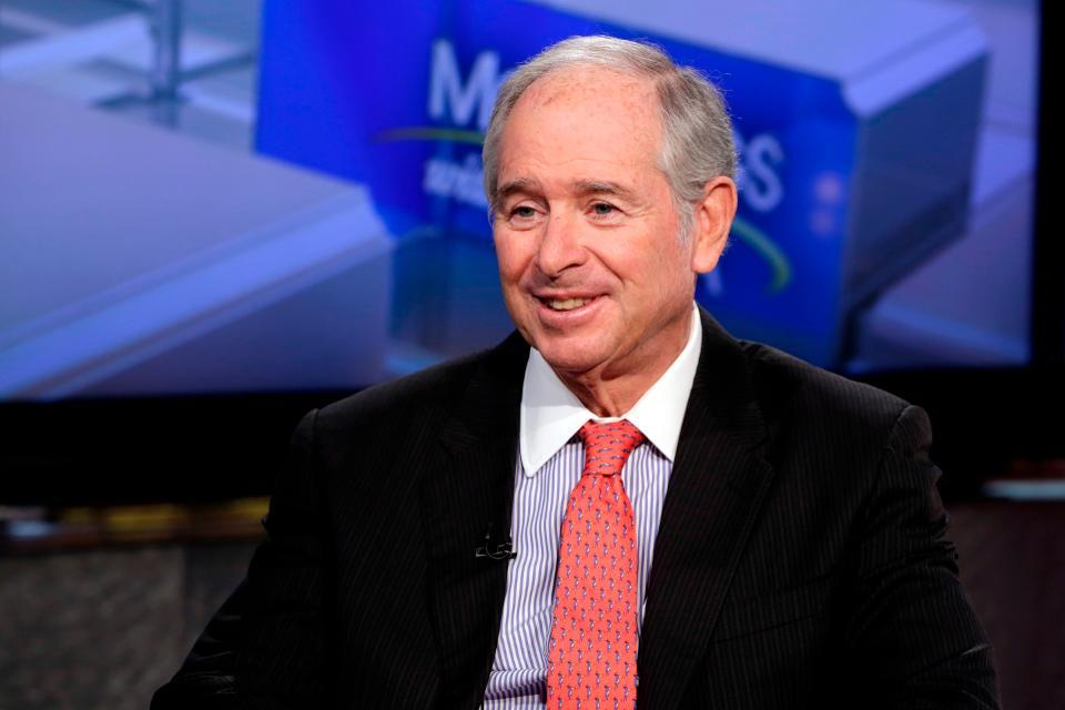 Stephen Schwarzman, presidente y consejero delegado de Blackstone