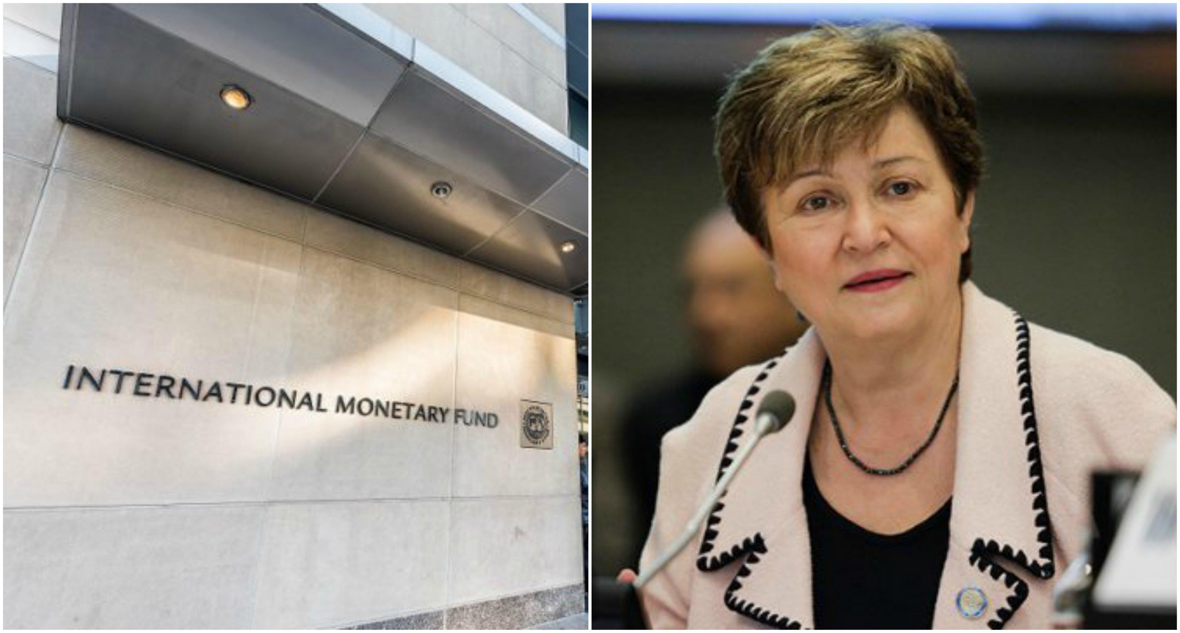 El FMI y su directora, Kristalina Georgieva