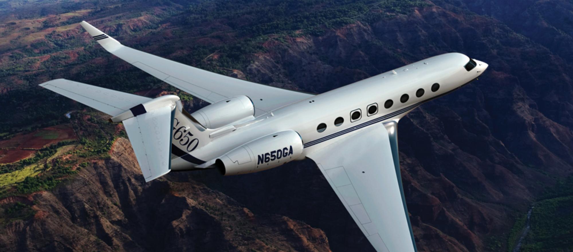 FG utilizaba el Gulfstream G-650 de manera habitual, para sus desplazamientos profesionales