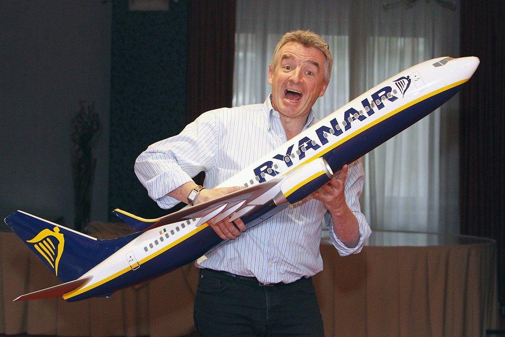 Michael O'Leary dirige el grupo que integra a Ryanair, Lauda y Air Malta