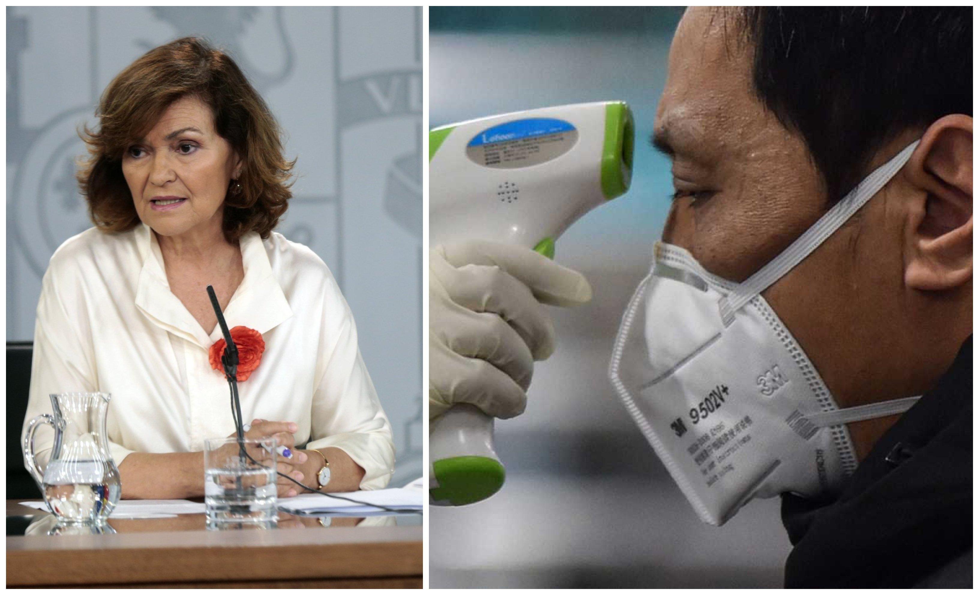 Calvo presidirá el comité anticoronavirus