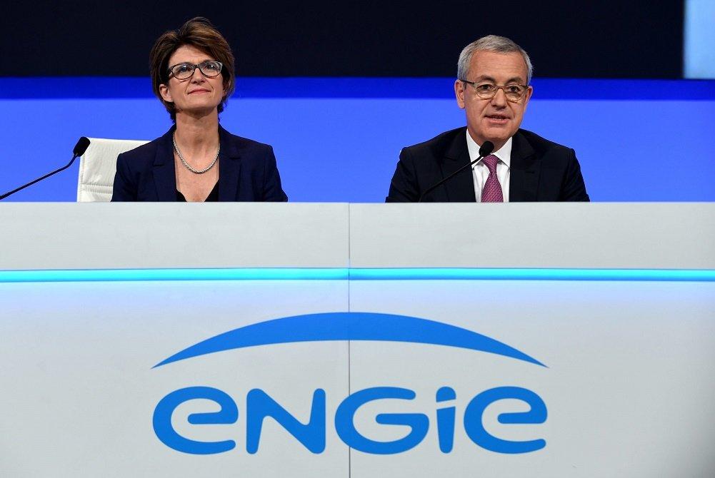 Isabelle Kocher y Jean-Pierre Clamadieu, CEO y presidente no ejecutivo de Engie, respectivamente