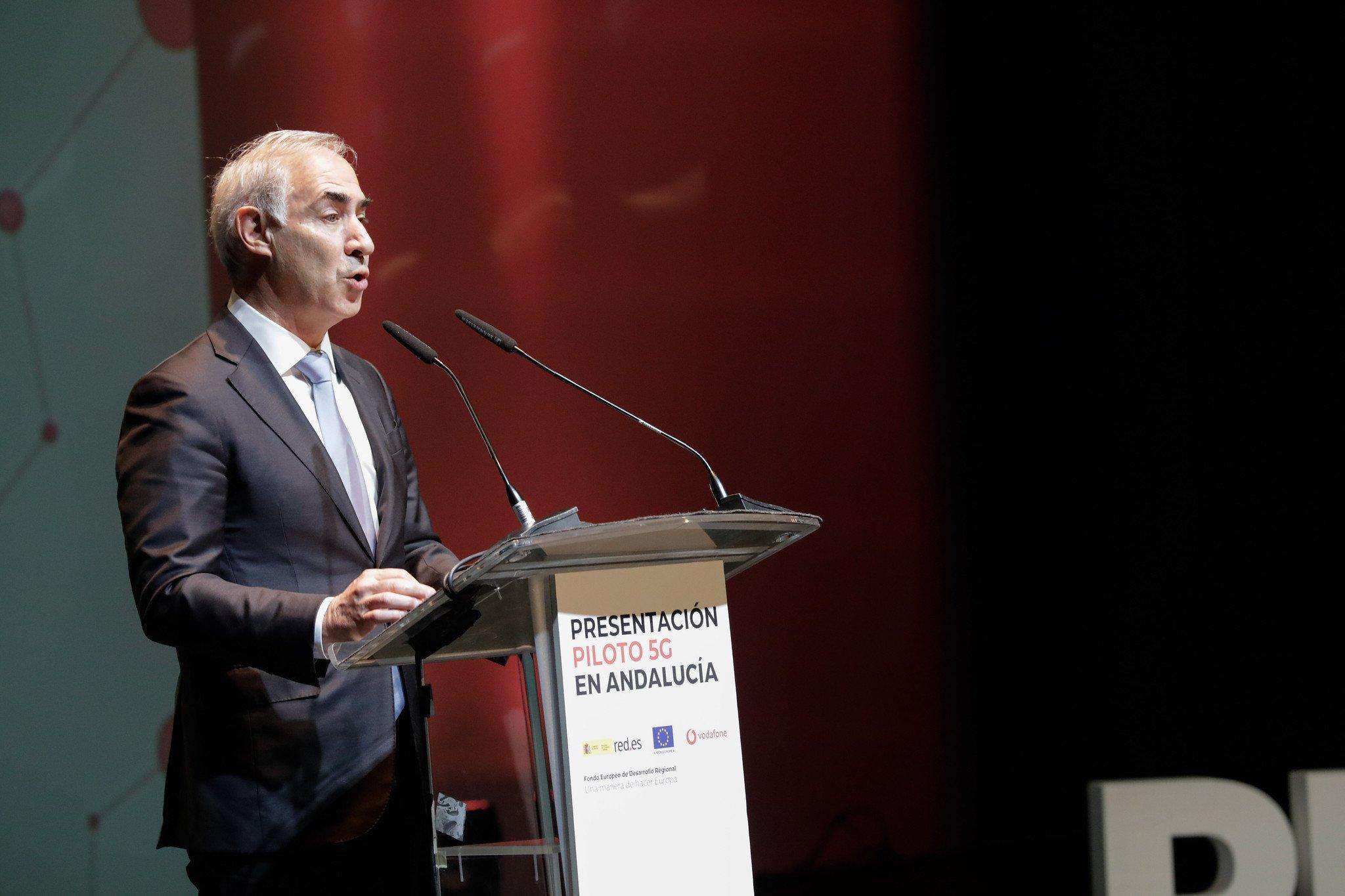 Antonio Coimbra, CEO de Vodafone España, confía en las medidas adoptadas durante 2019
