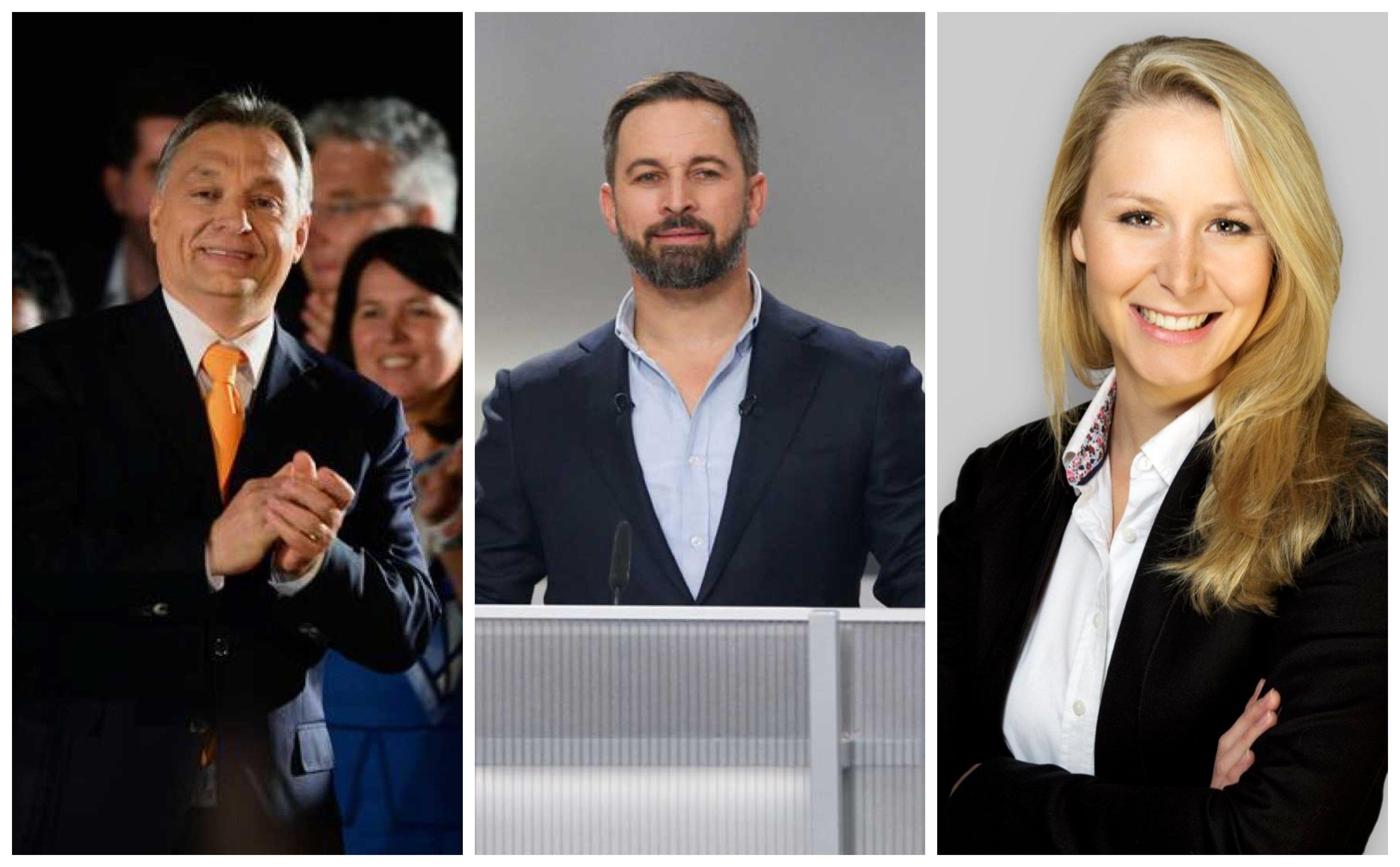 Abascal busca su 'multinacional' y camina en el filo de la navaja, entre Orban y Le Pen