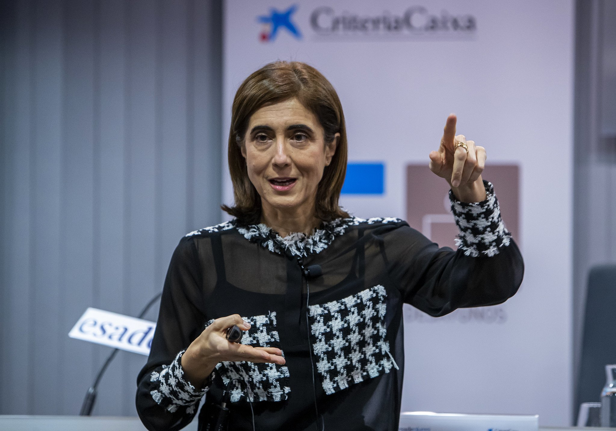 La presidenta de Microsoft en España, Pilar López