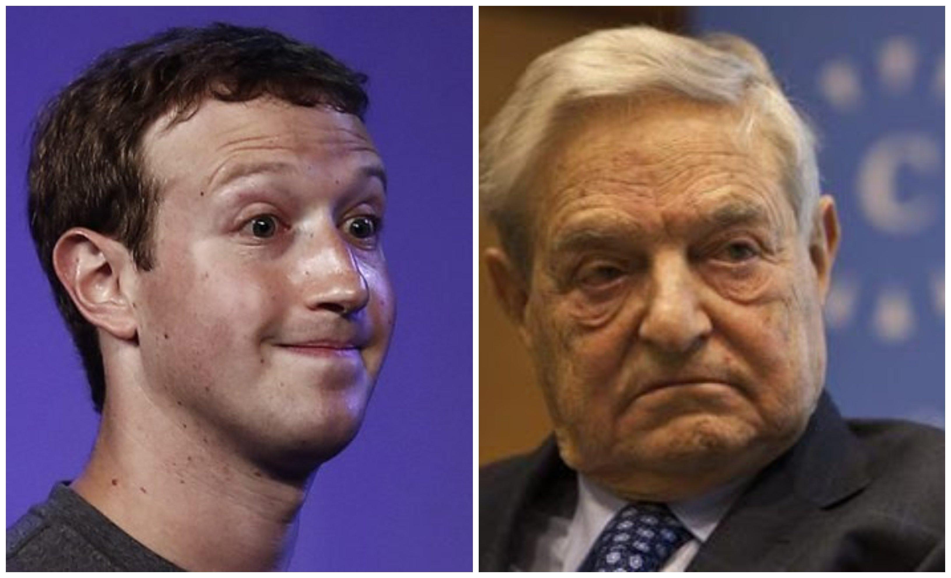 Zuckerberg es un tonti-progre, pero Soros es una víbora