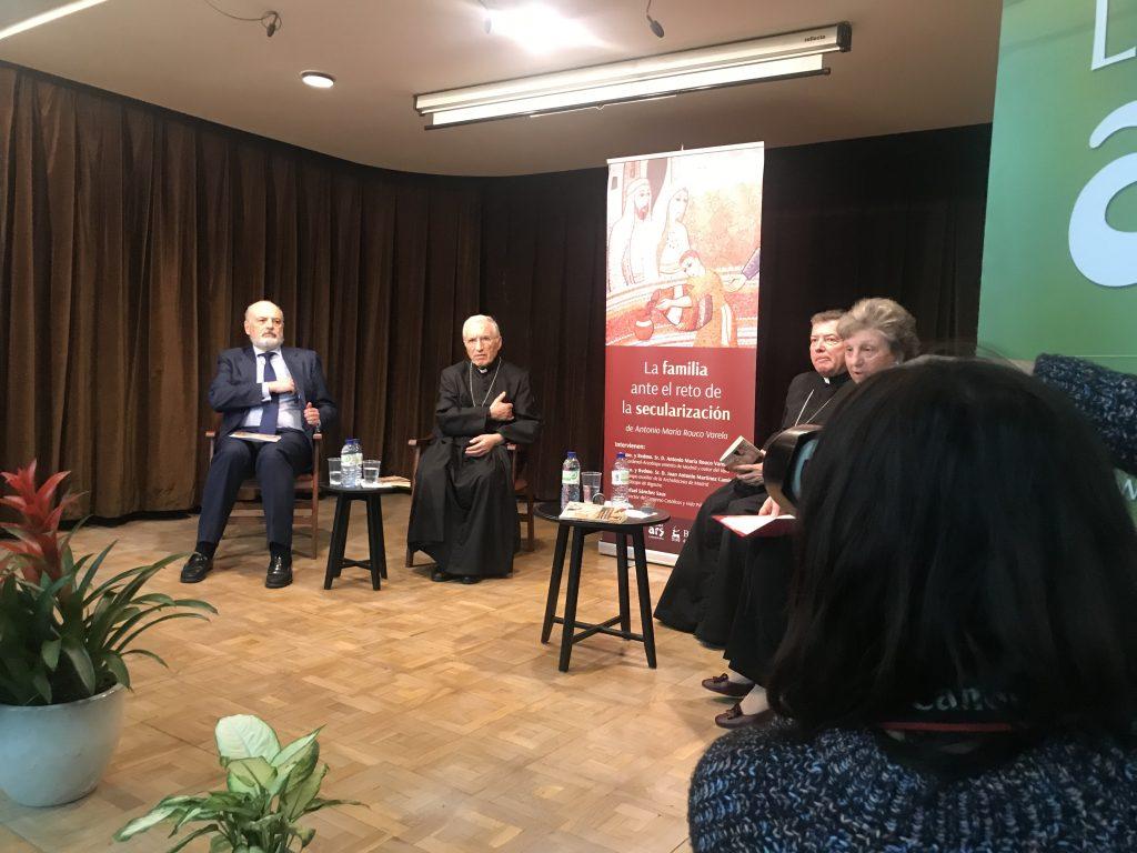 Rouco Varela en la presentación de su último libro La familia ante el reto de la secularización