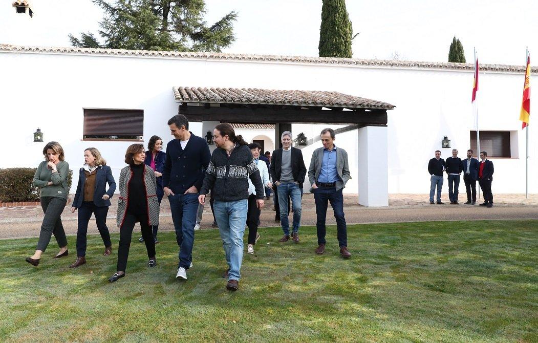 El vicepresidente Pablo Iglesias no obedece al presidente Pedro Sánchez