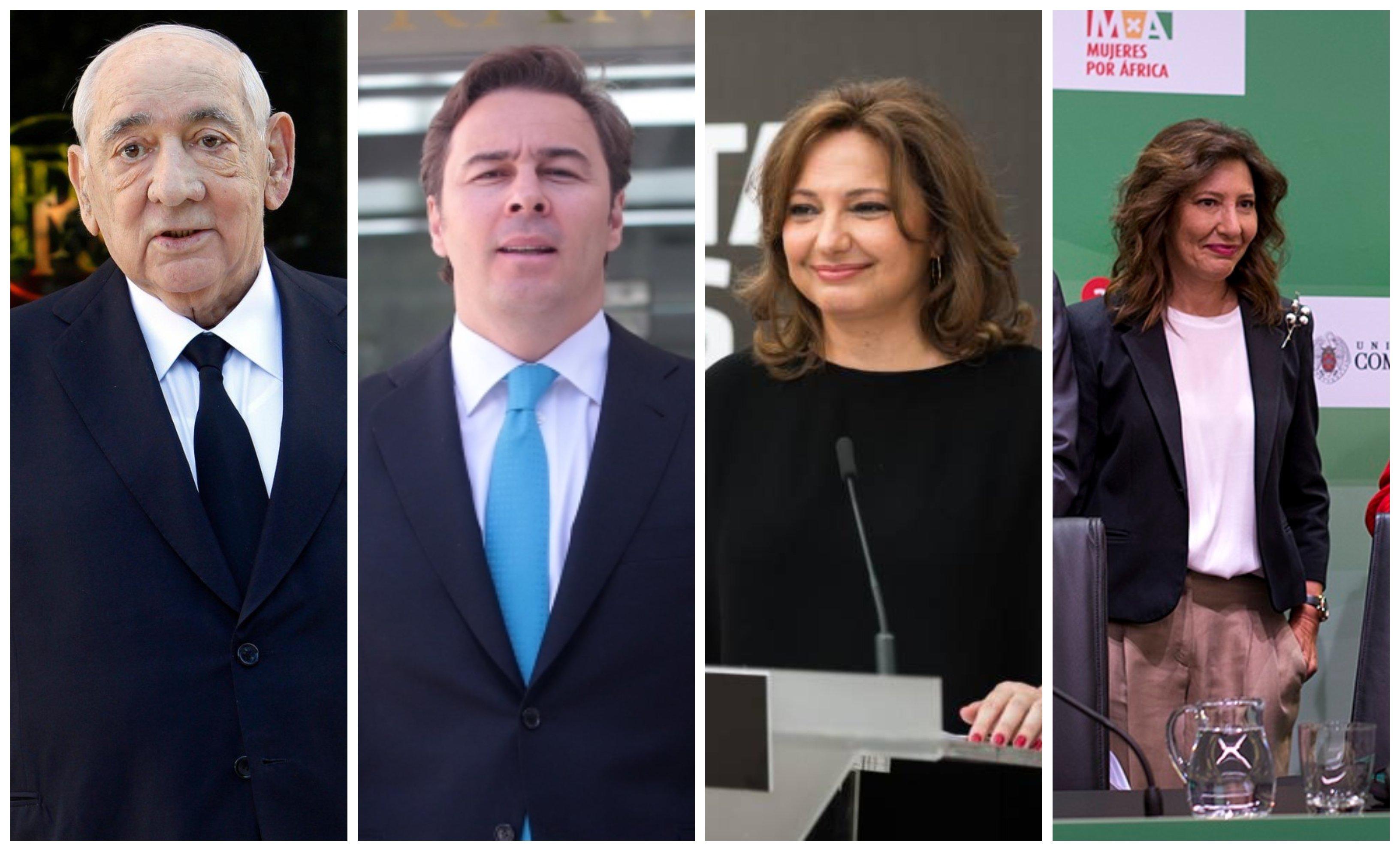 Isidoro Álvarez, Dimas Gimeno, Marta Álvarez y Cristina Álvarez