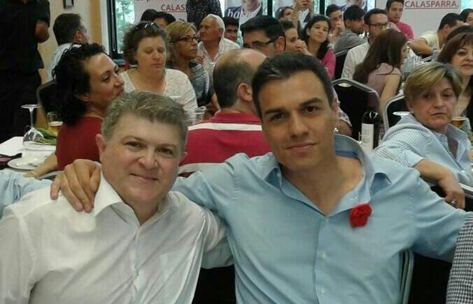 El imputado José Vélez es una persona de la máxima confianza Pedro Sánchez
