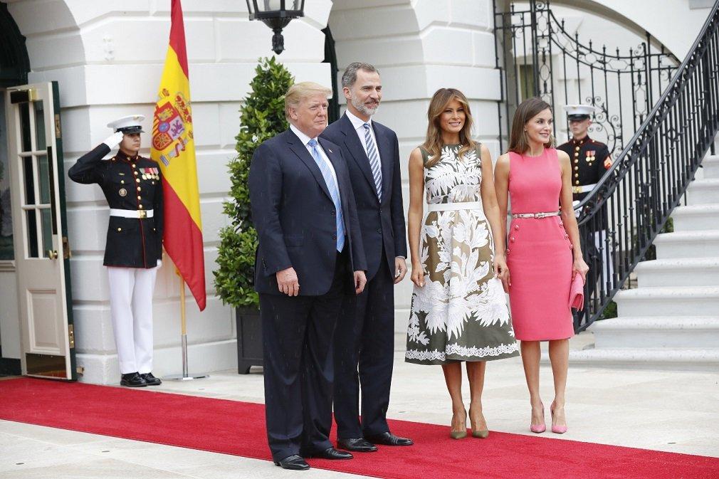 Será la segunda vez que los Reyes visiten al matrimonio Trump