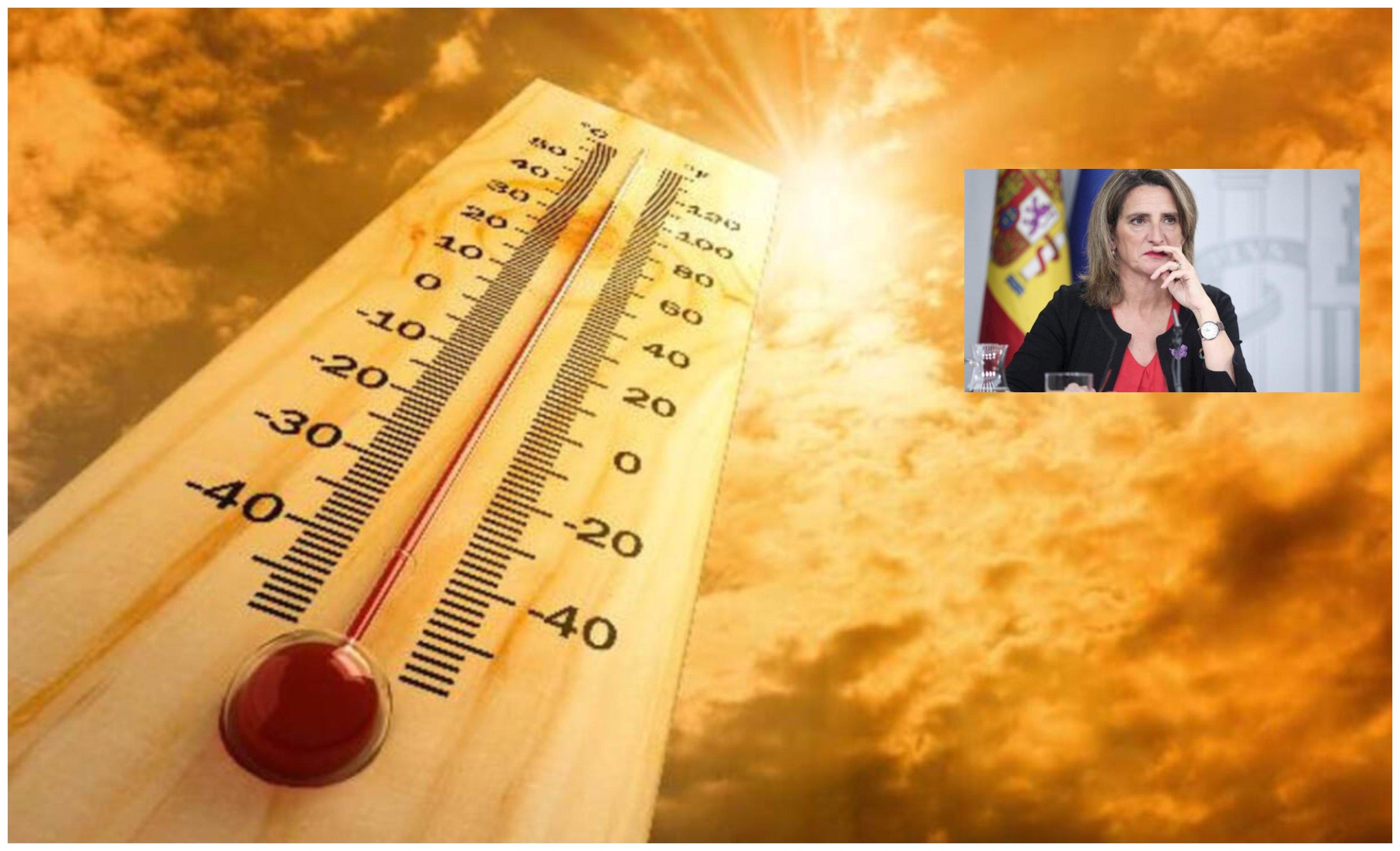 El 'apocalipsis ribereño': la vicepresidenta Ribera está muy preocupada, vamos a morir en 2100