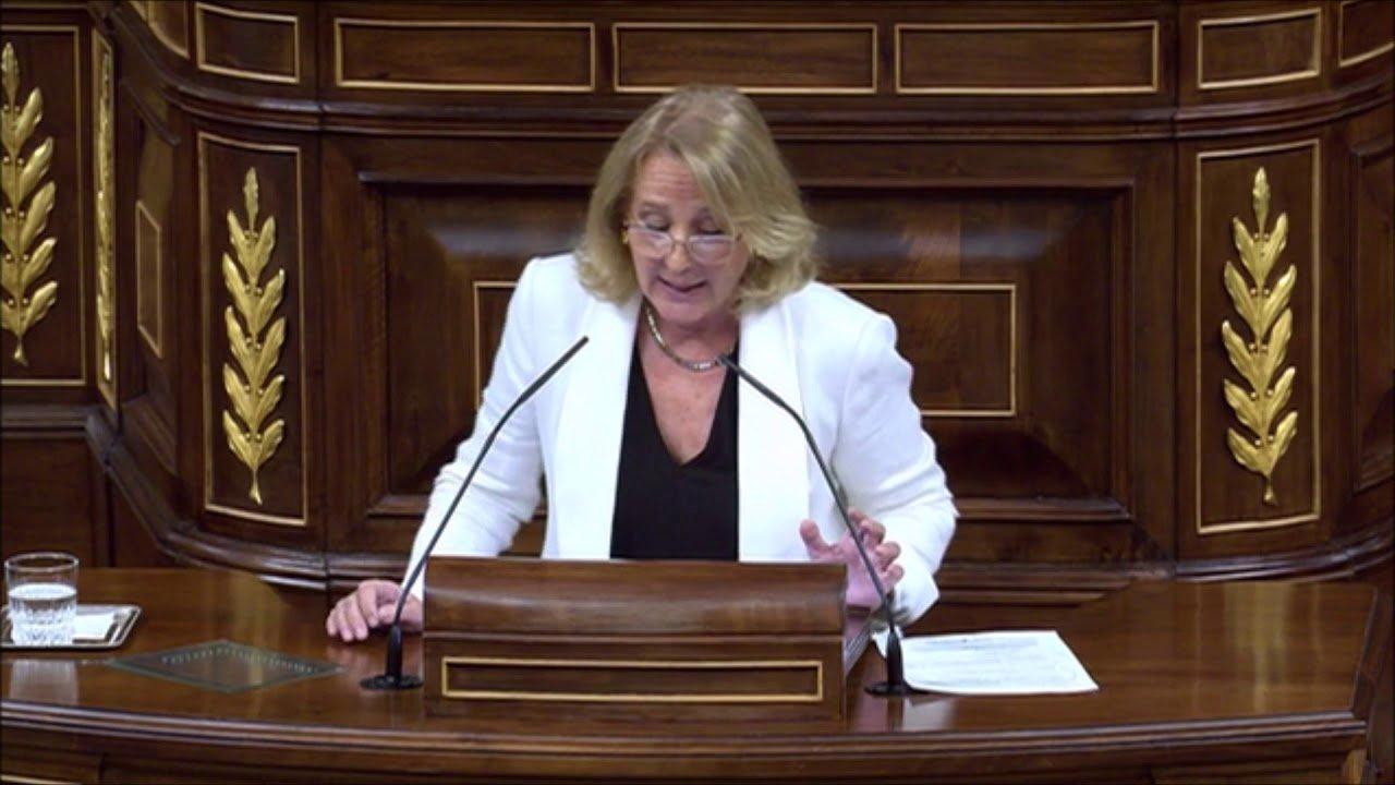 Lourdes Méndez Monasterio defiende en el Congreso a los más débiles, frente a la eutanasia del PSOE