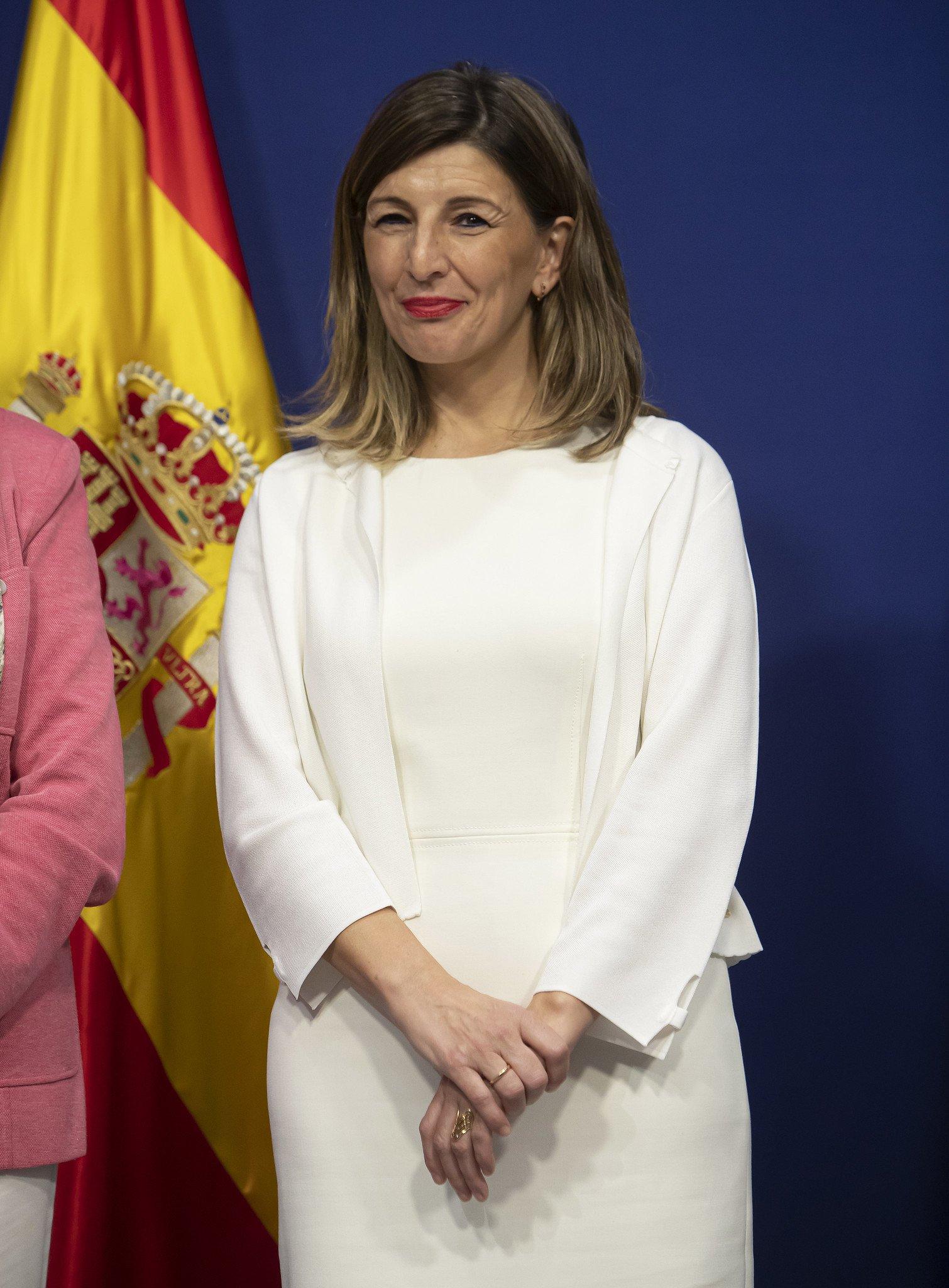 Yolanda Díaz amenaza con una sonrisa