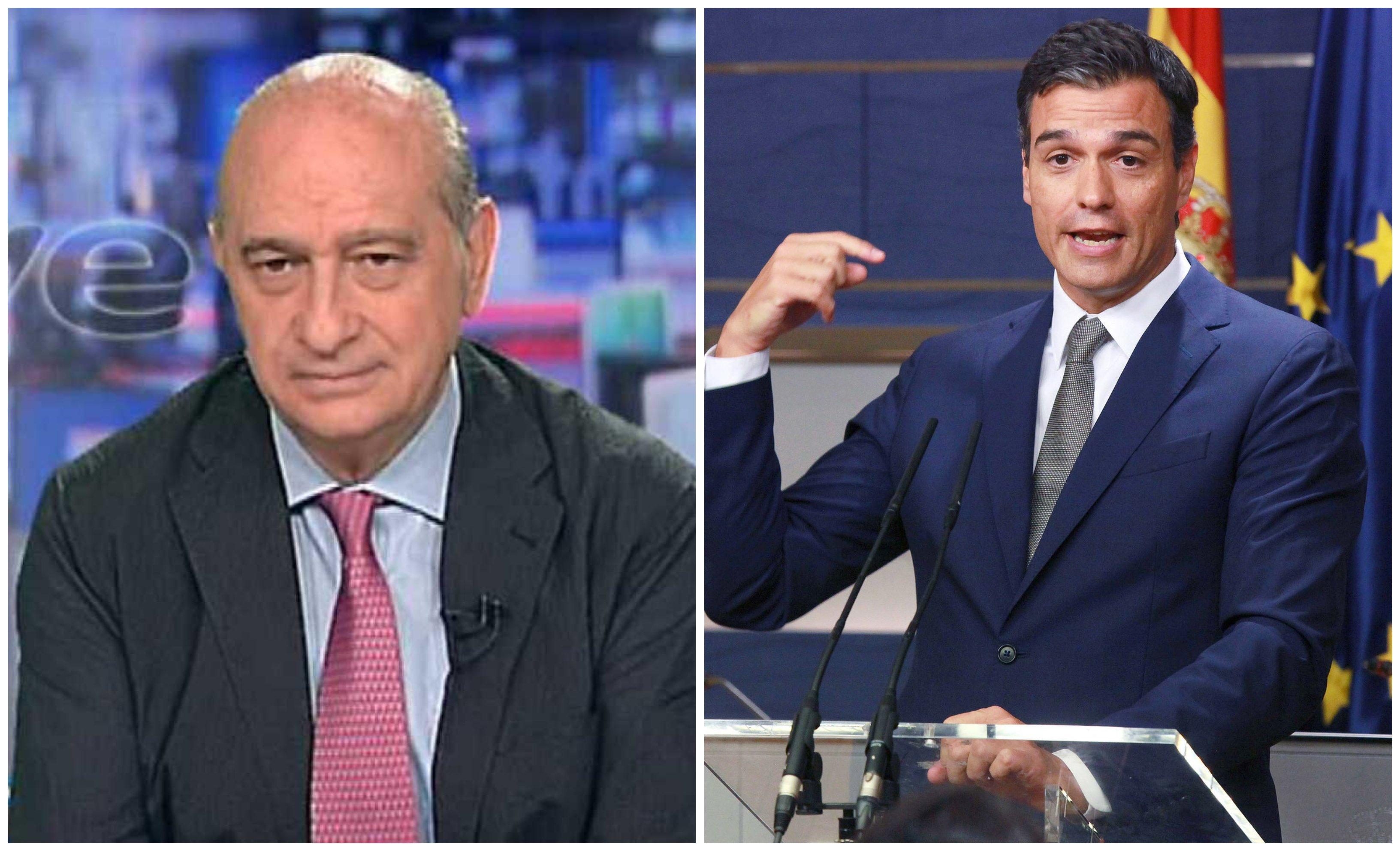 Jorge Fernández y Pedro Sánchez