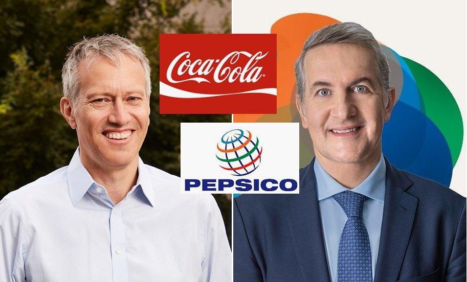El británico James Quincey y el español Ramón Laguarta están a los mandos de Coca-Cola y de PepsiCo, respectivamente