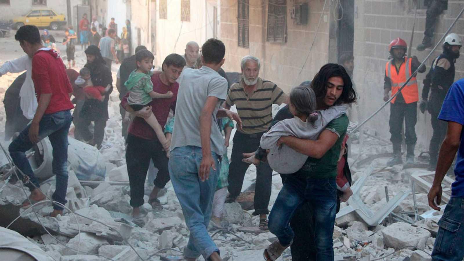 Idlib, donde la situación humanitaria es crítica
