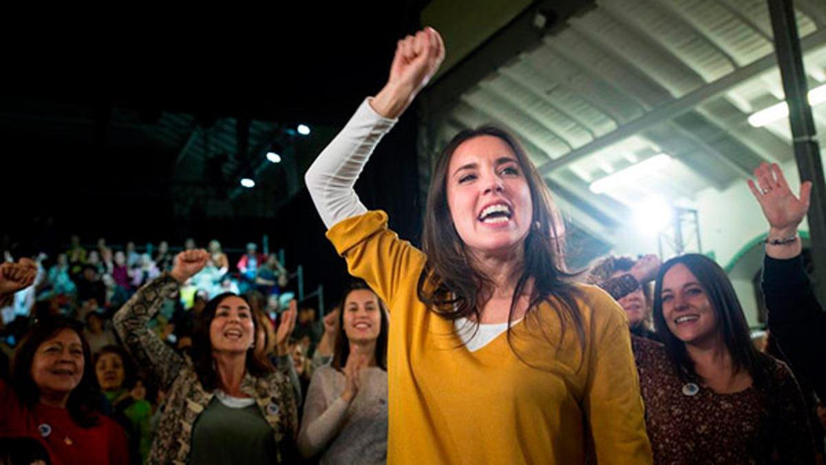 Las perlas de Irene Montero. Las mujeres somos racionales… los hombres de derechas, multimillonarios