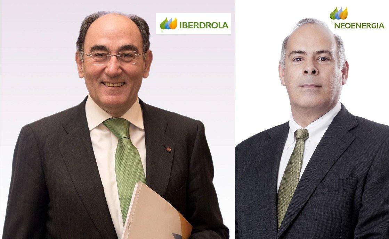 Ignacio Galán, presidente y CEO de Iberdrola, y Mario Ruiz-Tagle, CEO de Neoenergia