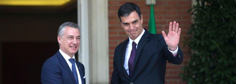 Íñigo Urkullu y Pedro Sánchez