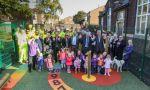 FCC abre un parque infantil en Widnes (Reino Unido), donde construye el puente de Mersey
