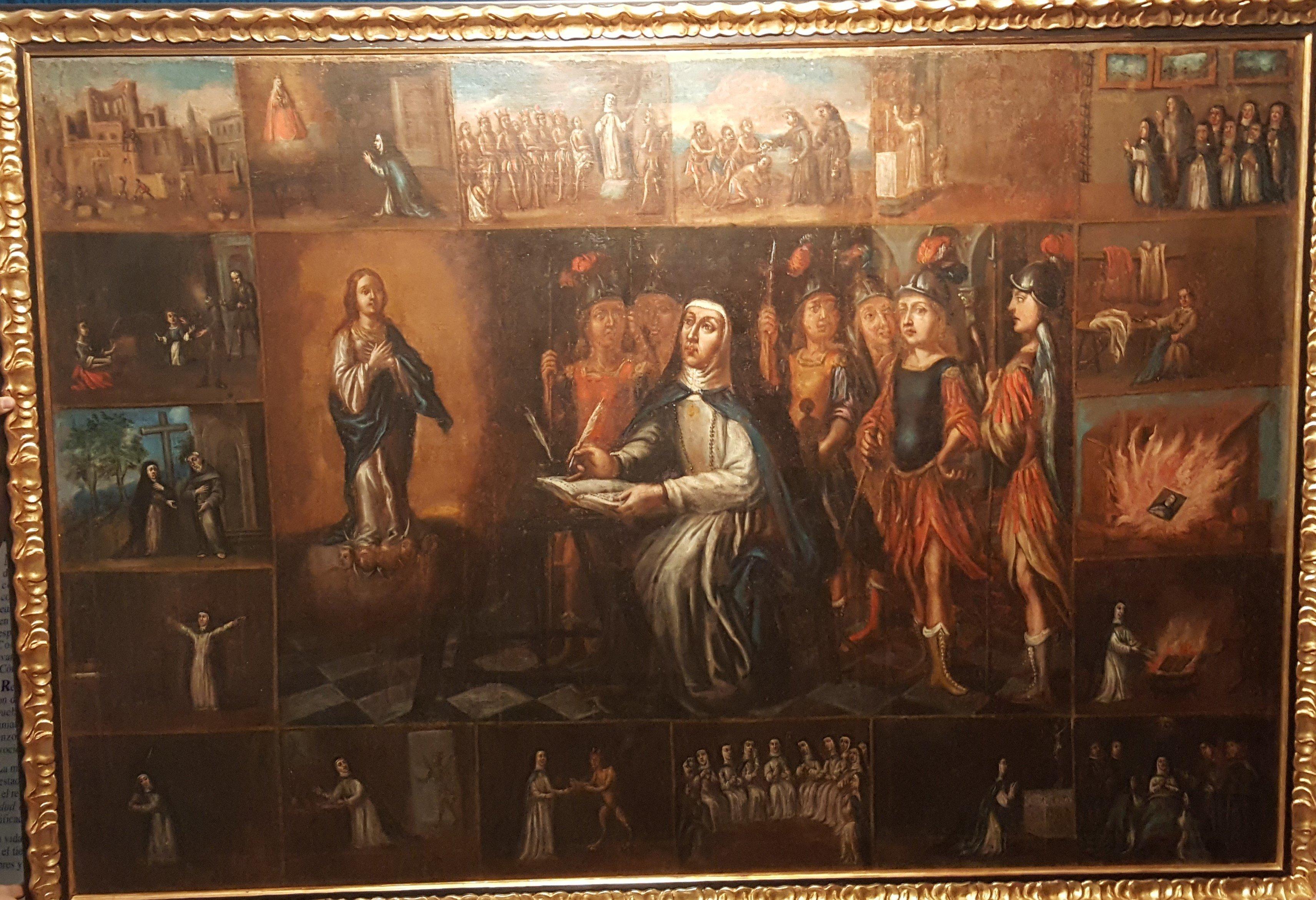 María de Agreda la modernidad siempre acaba en mediocridad