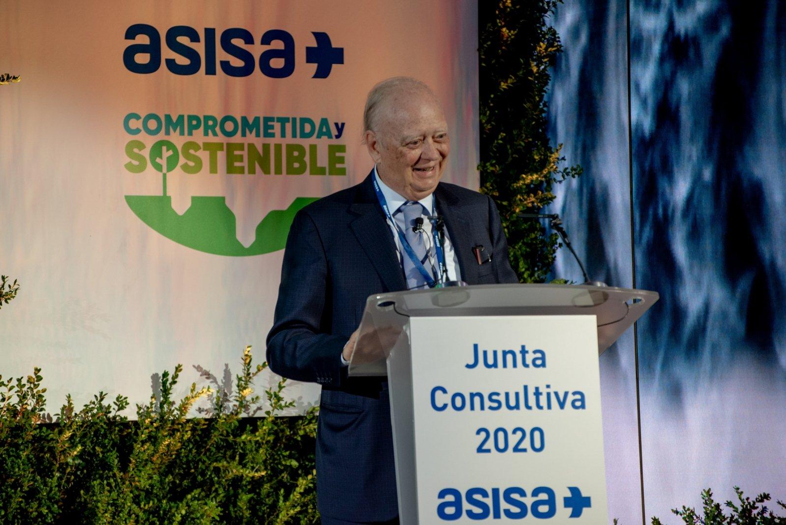 Francisco Ivorra, durante la presentación de resultados de 2019