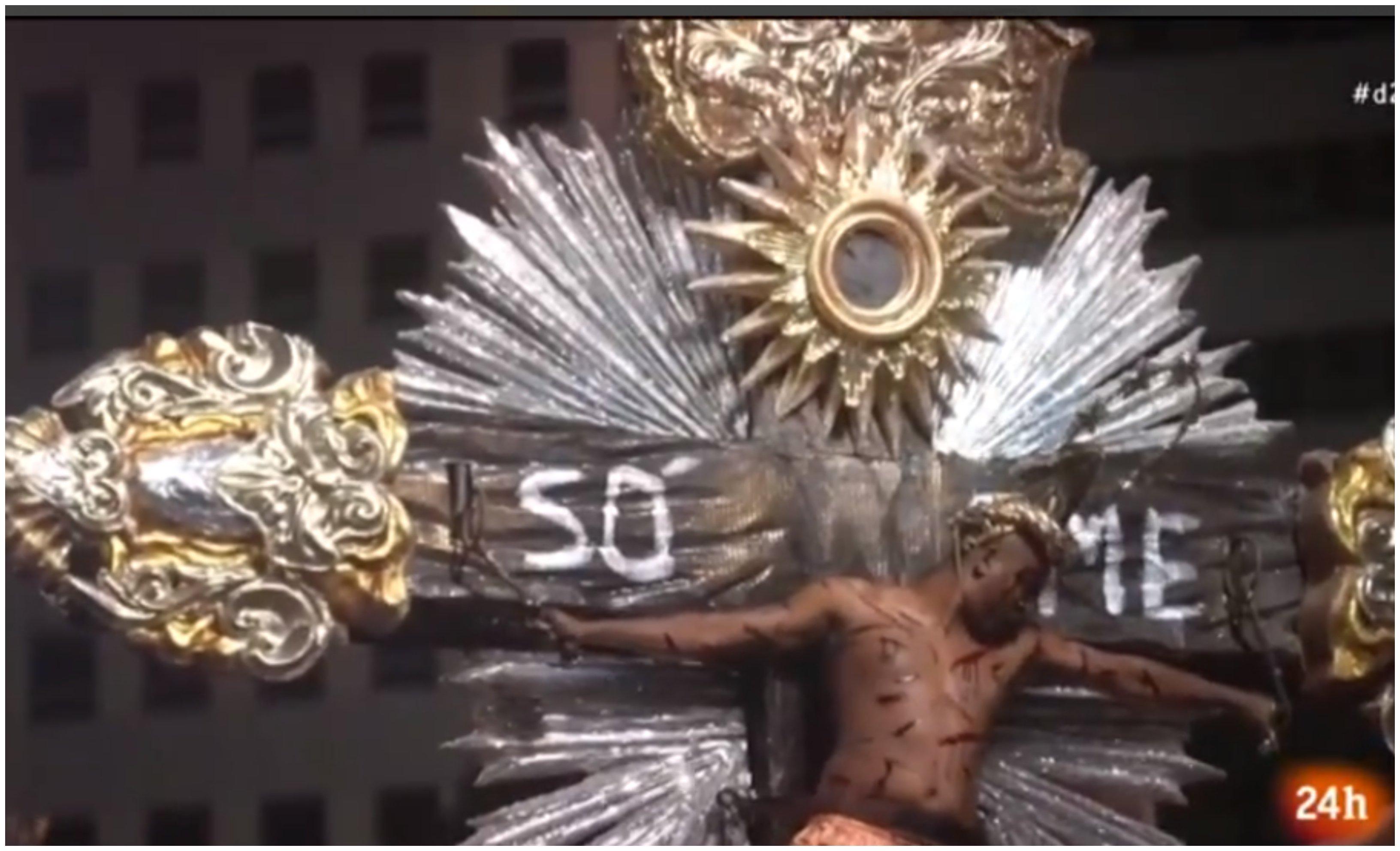 El Carnaval de Brasil progresa: de la prostitución a la blasfemia