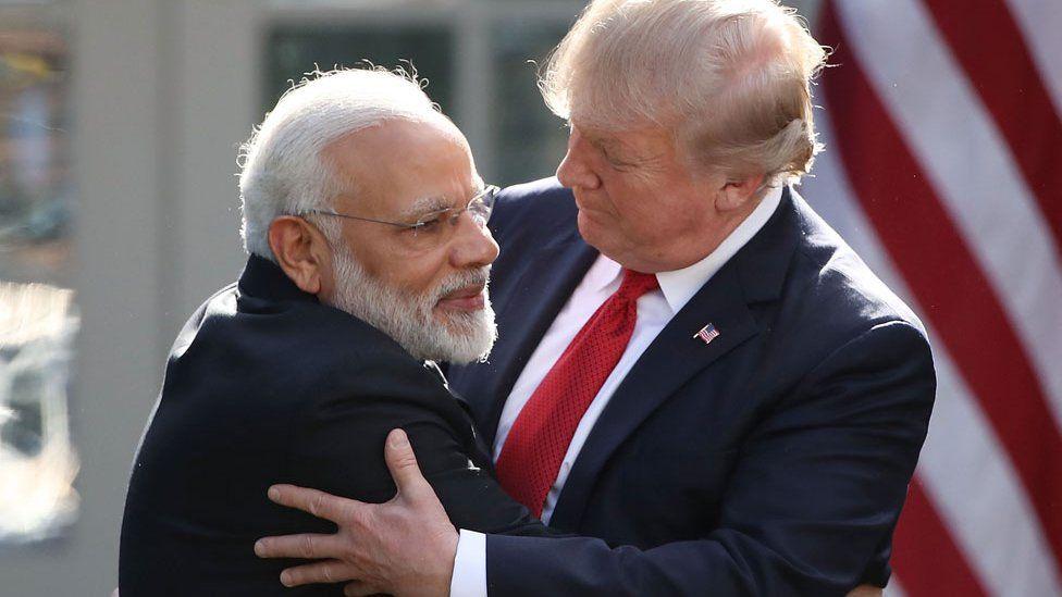 Modi y Trump