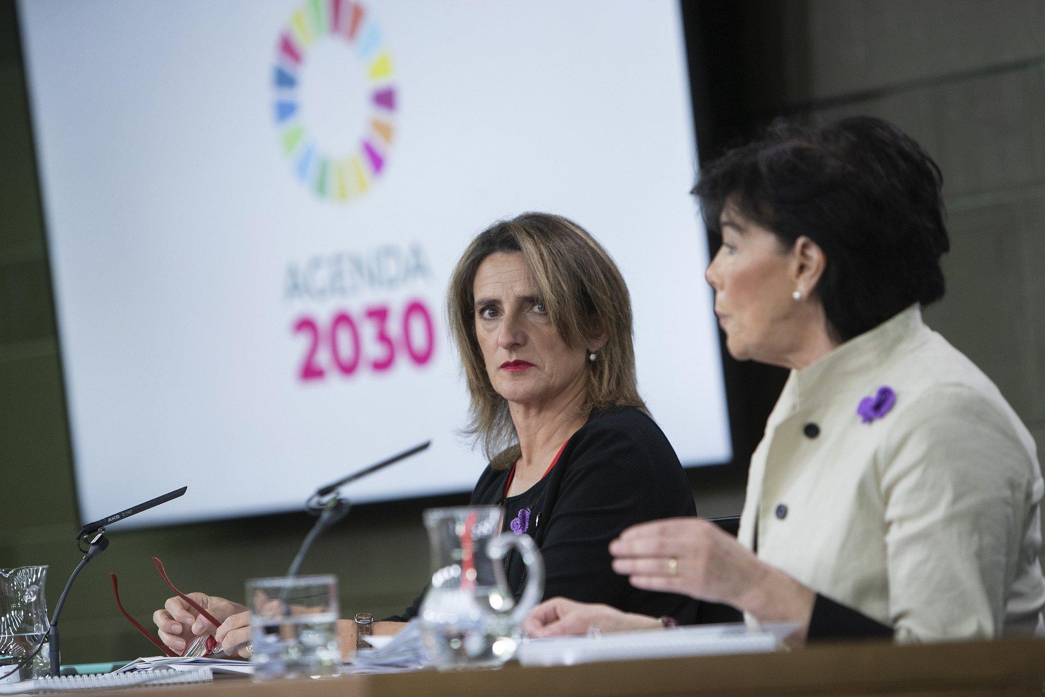 En España la papisa de la nueva religión es la vicepresidenta Teresa Ribera