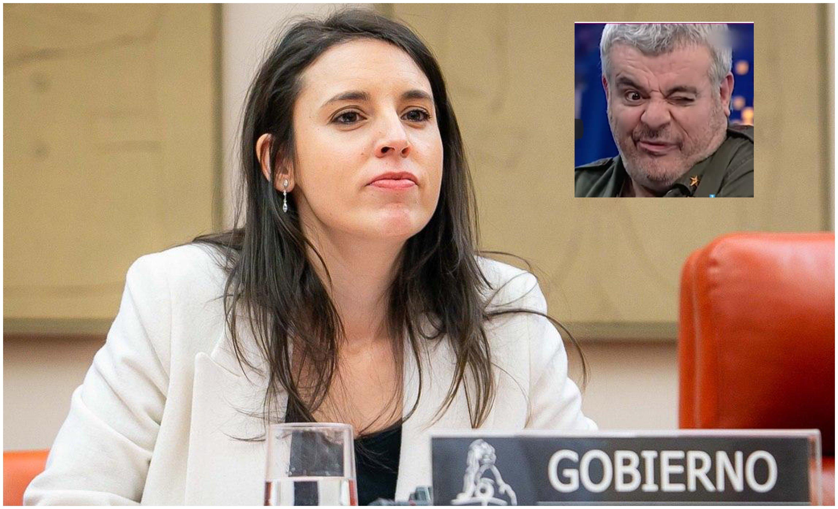 Irene Montero, ¡prrr!: A la ministra de Igualdad le preocupan la xenofobia, la islamofobia, el antisemitisno y el antigitanismo… la cristofobia, no. Esa pretende alentarla