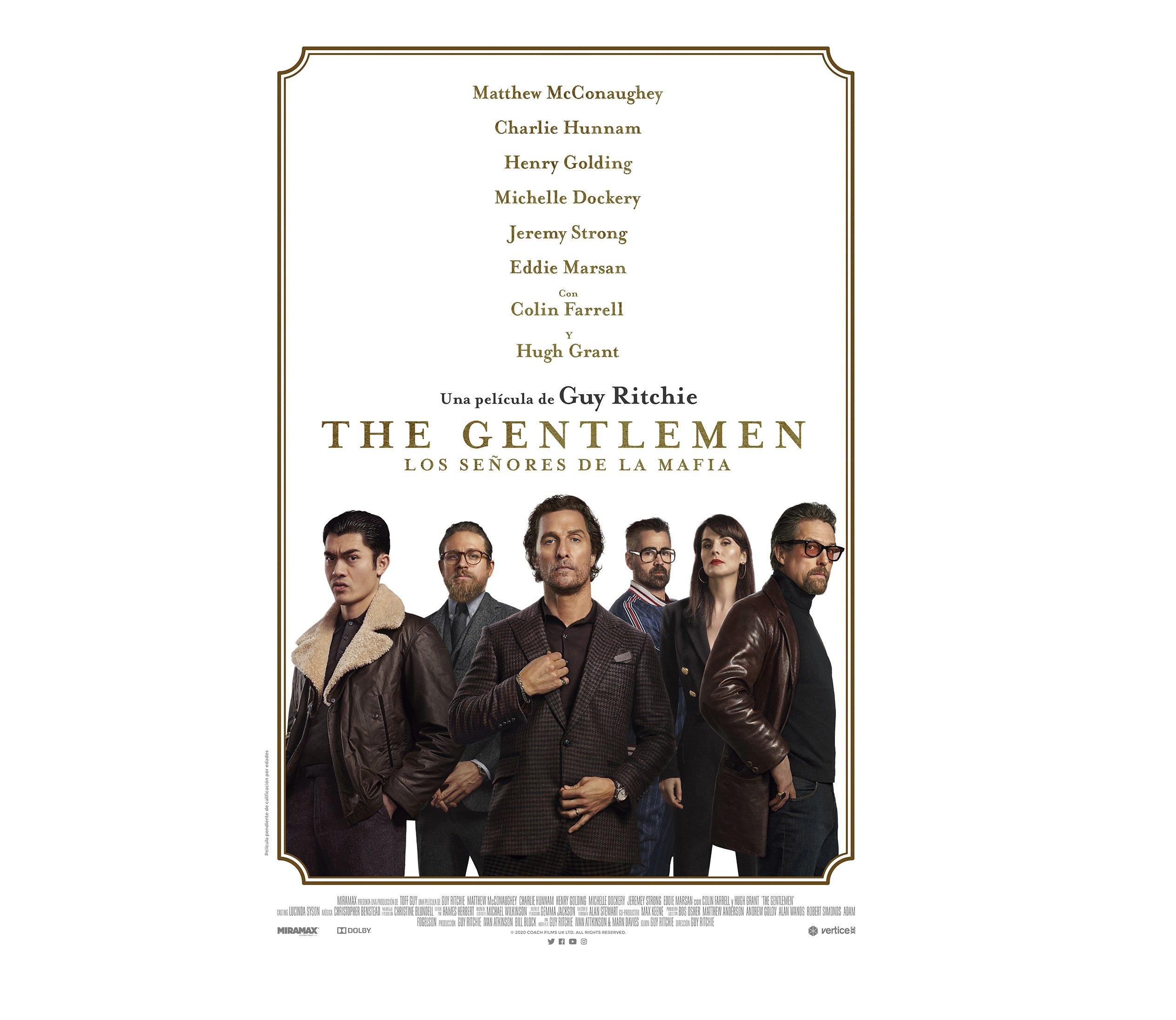 'The Gentlemen Los señores de la mafia'