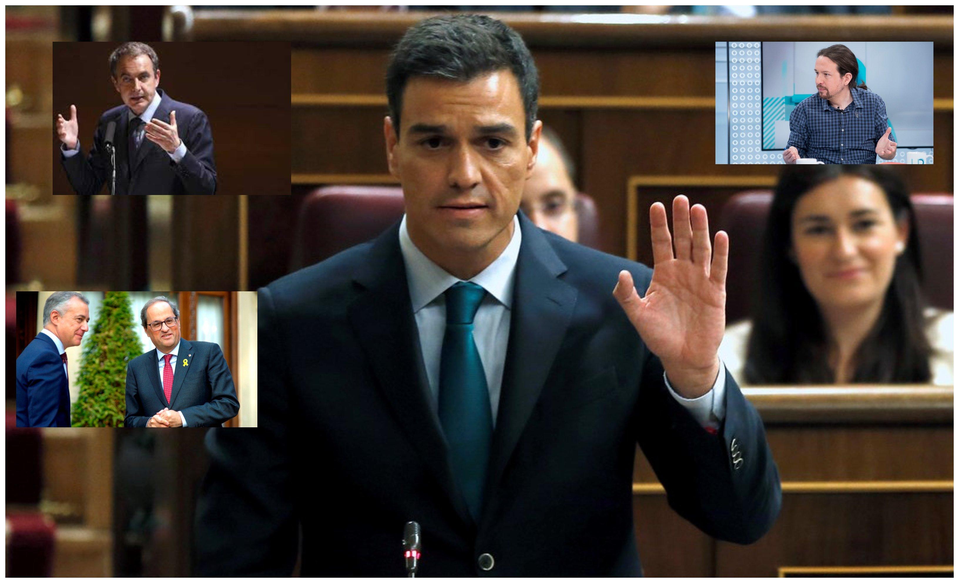 Impunidad. De Morodo a Maduro: Sánchez se ha convertido en rehén de tres personas: ZP, Iglesias y Torra (o Urkullu, que es lo mismo)