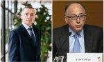 Willie Walsh, CEO de IAG, y su sucesor dentro de unos meses (si no hay más cambios), Luis Gallego, presidente y CEO de Iberia