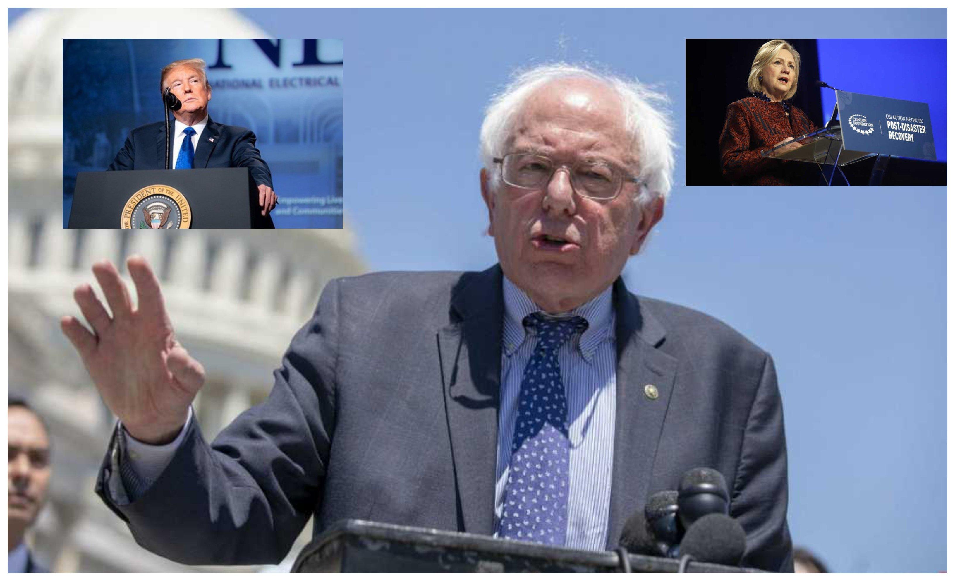 Hillary apoyará Sanders. Trump también