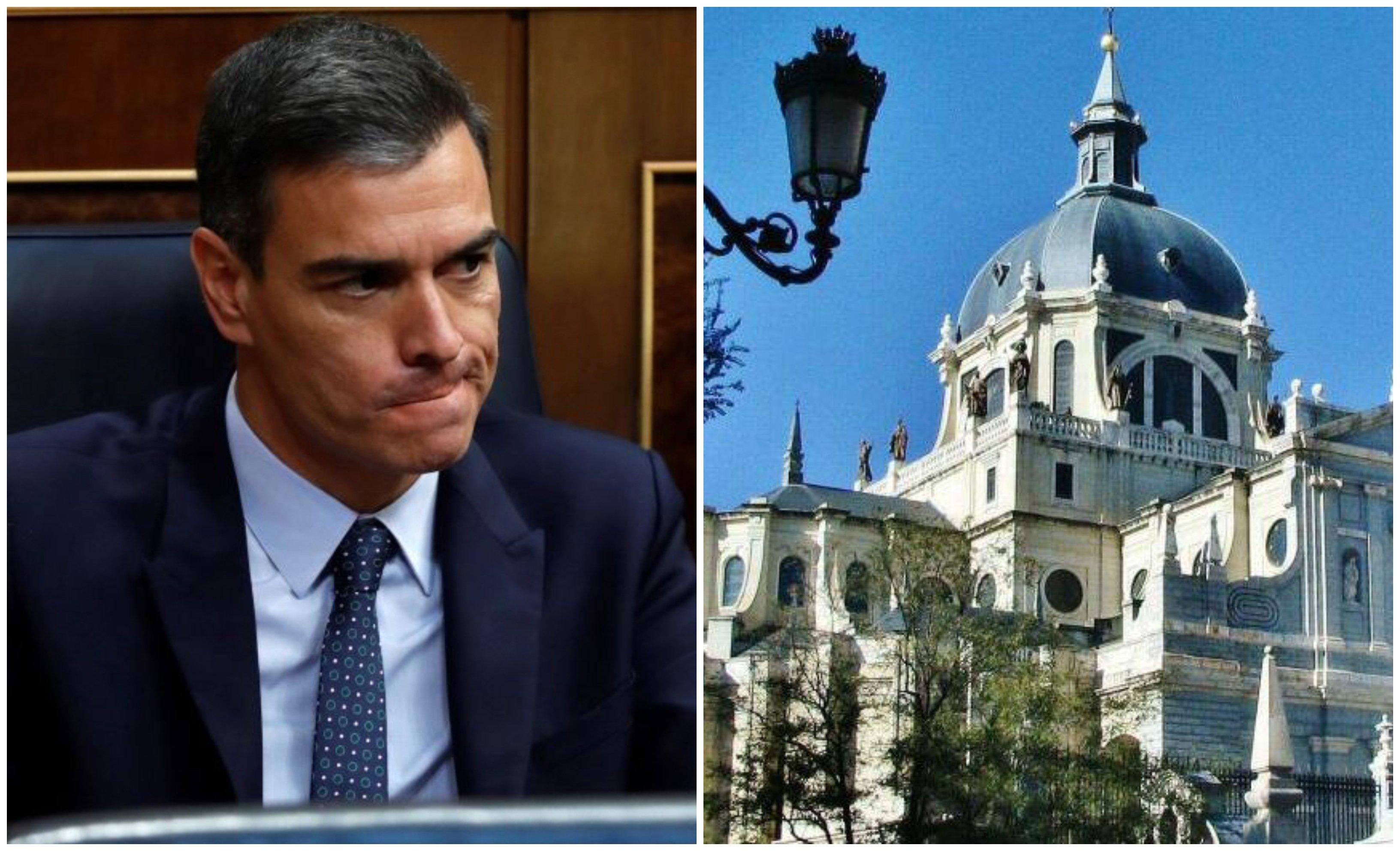 Pedro Sánchez quiere destruir a la Iglesia: arruinándola económicamente y convirtiendo al Estado en Papa. Esto segundo es mucho más peligroso… pero no lo conseguirá