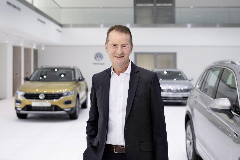 Herbert Diess, CEO y presidente del Consejo de Administración del grupo Volkswagen