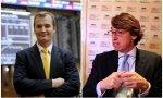 Meinrad Spenger, CEO de MásMóvil y John Hahn (Providence)