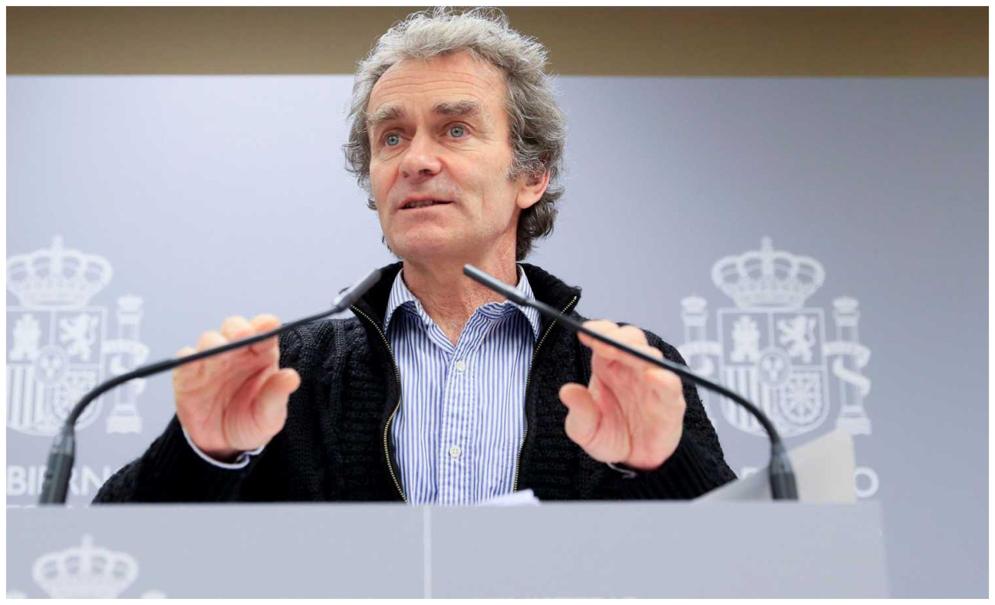 Fernando Simón, director del centro de Alertas y Emergencia sanitarias
