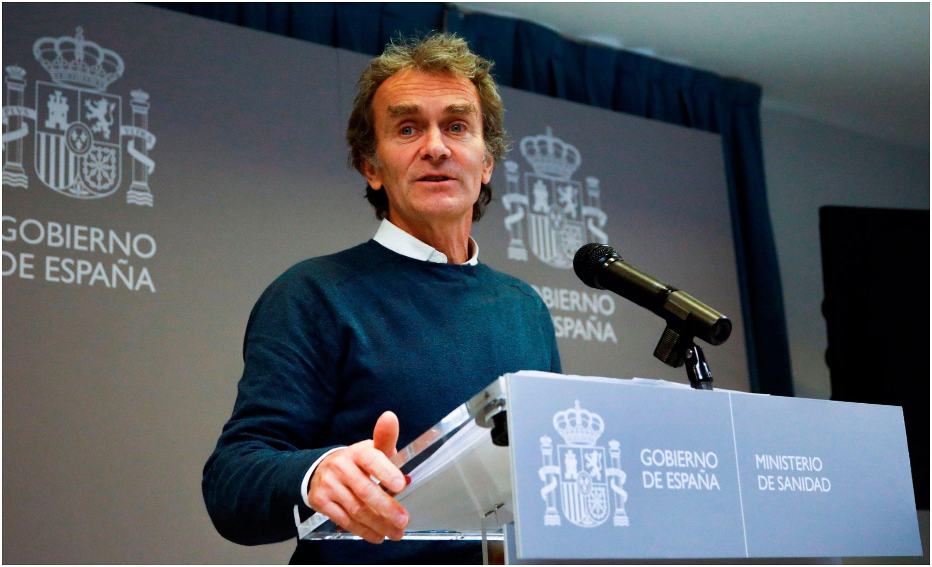 Fernando Simón, director del Cento de Alertas Sanitarias y portavoz para el Seguimiento del Coronavirus