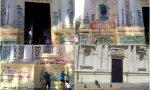 Chile. La cristofobia no cesa: increpan a los fieles mientras restauraban una iglesia que había sido atacada por abortistas