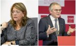 La expresidenta de la CNMV, Elvira Rodríguez y el actual presidente, Sebastián Albella