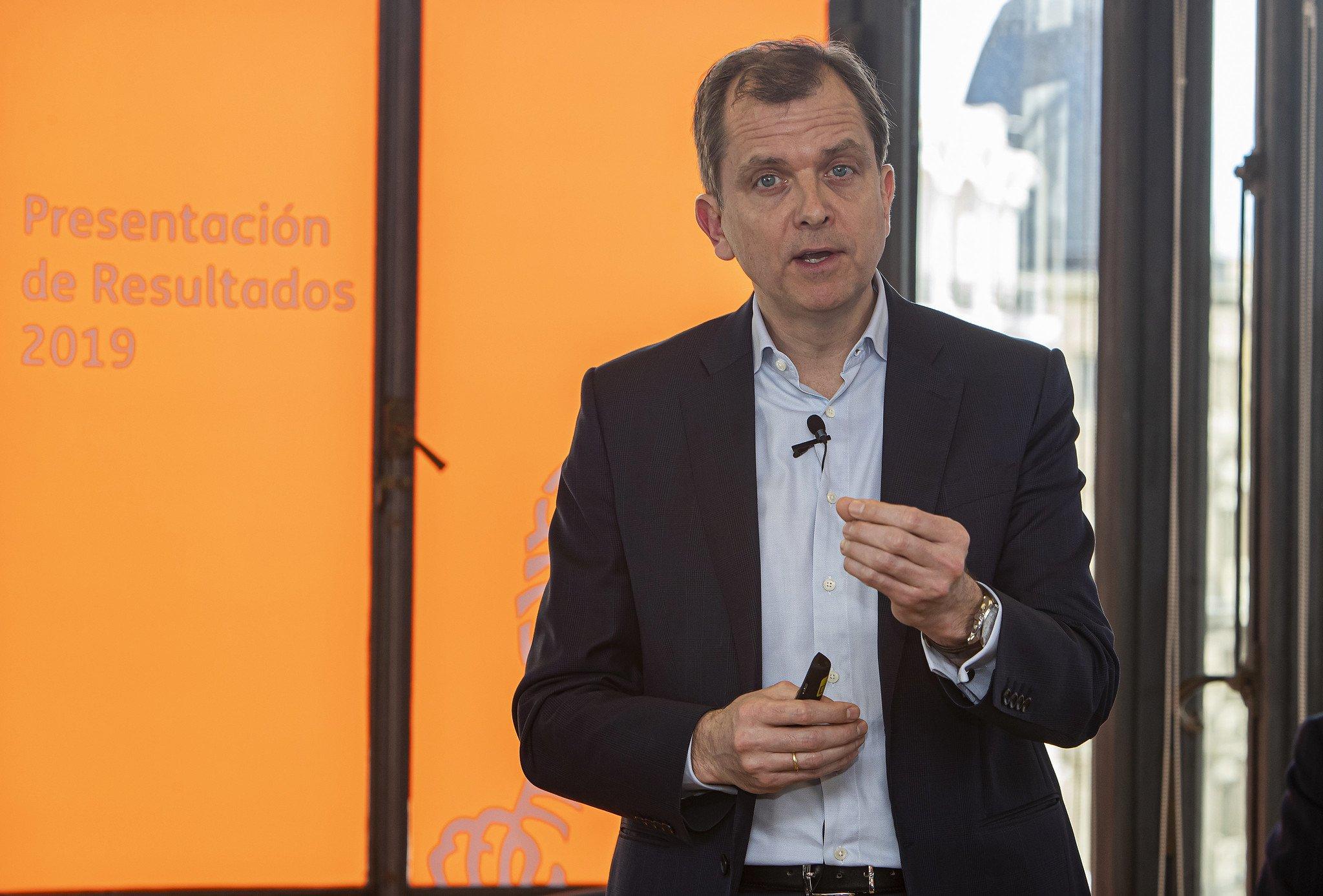 Roel Huisman, el nuevo CEO de ING en España y Portugal, no hará cambios en 2020
