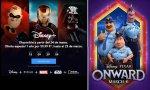 The Walt Disney lanza su plataforma de 'streaming' y estrena 'Onward' en los cines