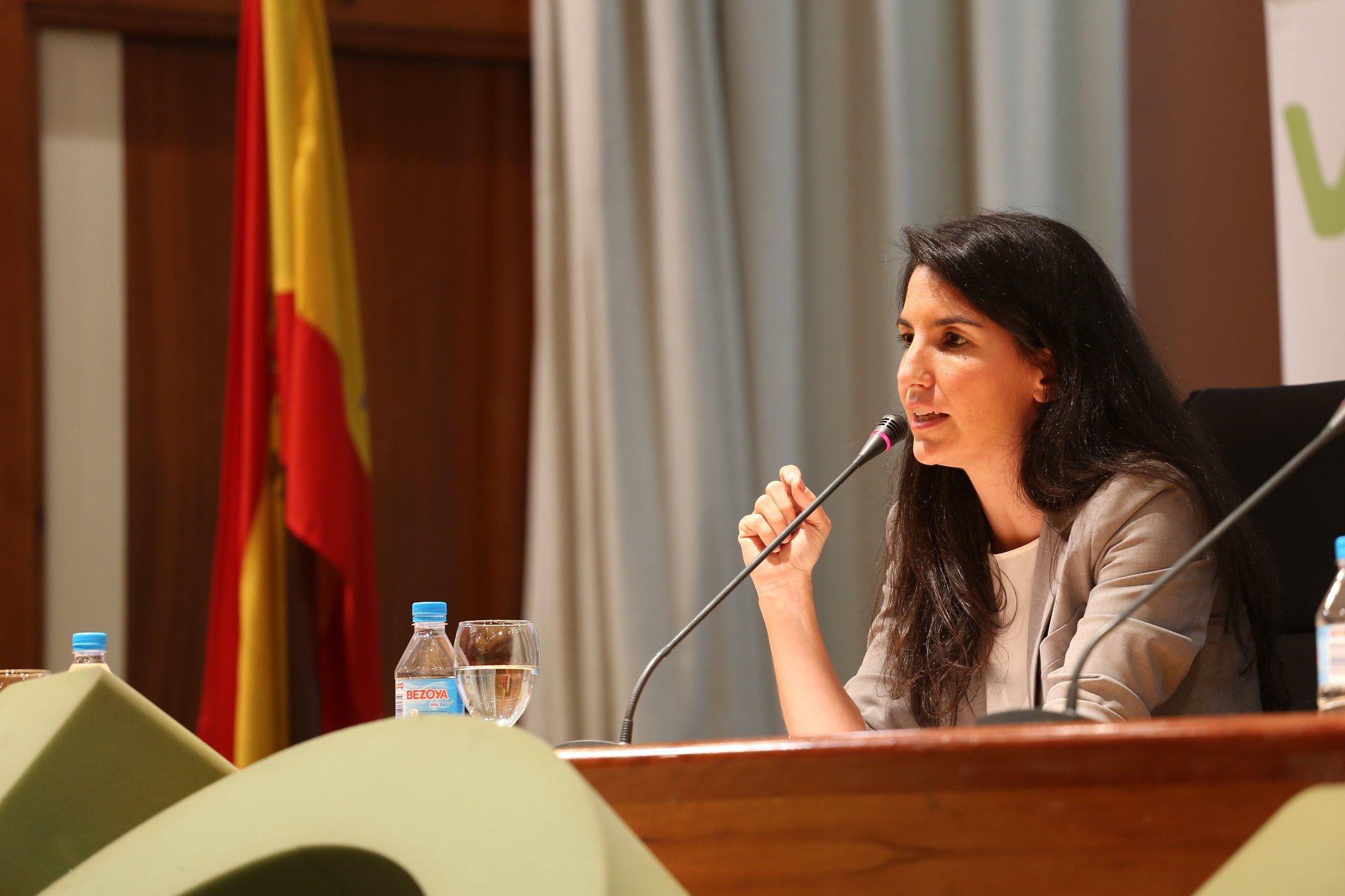 Rocío Monasterio paralizó la propuesta de PP y Ciudadanos para evitar la ideología de género.
