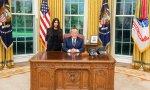 Kim, la Kardashian estresada, visita la Casa Blanca para una reforma penal norteamericana