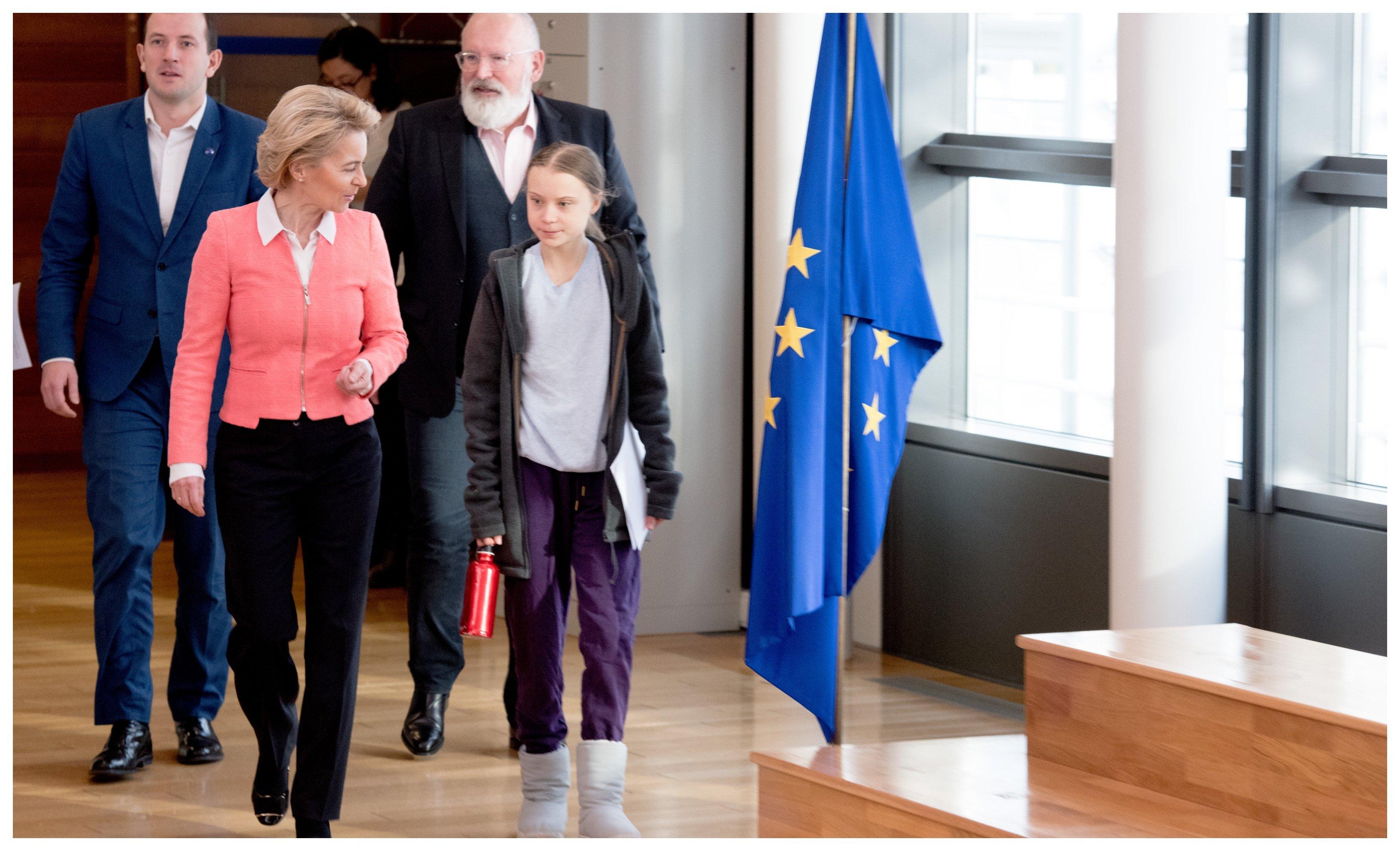 Greta Thunberg no está contenta con la ley climática de la UE